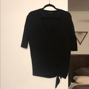 Black 3/4 Sleeve Shirt